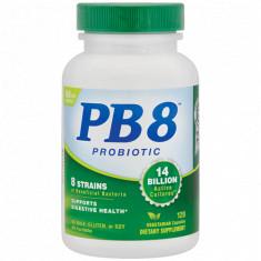Probiótico PB8 120 cápsulas - Nutrition Now (Val: Mar/2022)