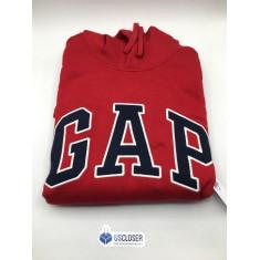 Moletom Vermelho - GAP  Tam. M, G e GG