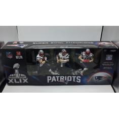Miniaturas (3 pack) Patriots - NFL Super Bowl Xlix