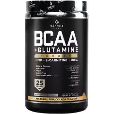 BCAA 4: 1: 1 + Glutamina, HMB, L-Carnitina, HICA (Sabor: Piña Colada)