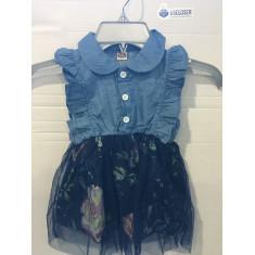 Vestido Infantil PatPat - Tam: 9 e 18 meses