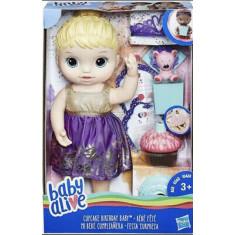 Baby Alive -  Cupcake Birthday Baby