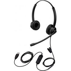 Fone de ouvido USB para reunião com zoom, videoconferência etc.