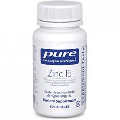 """Suplemento de picolinato de zinco """"Zinco 15"""" - Pure Encapsulations"""