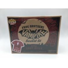 "Camiseta ""Frog Brothers Vampire"" Survival Kit - Funko Pop! Tam: M"