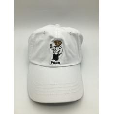 Boné Branco Polo - Tamanho Único
