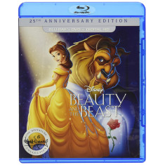 A Bela e a Fera: Edição do 25º aniversário - (BD+DVD+DIGITAL HD) [Blu-ray]