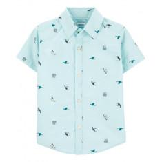 Camisa Infantil Tam: 5 anos - Carter's (Estilo 6310)