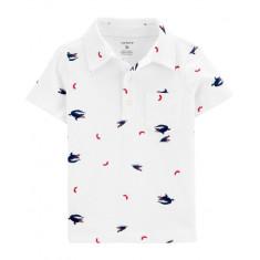 Camisa Infantil Carter's - Tam: 5 anos (Estilo 5010)