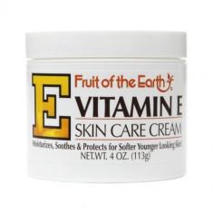 Creme com Vitamina E - Fruit of the Earth 113g