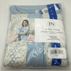 Pijama Feminino - Flora Nikrooz (Tam. G - Azul)