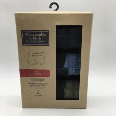 Kit 3 Cuecas Box - Abercrombie & Fitch Tam. G