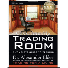 """Livro ''Come Into My Trading Room"""" (1st Edition)"""