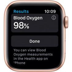 Apple Watch Series 6 GPS - 44mm - Gold - Novo/Lacrado