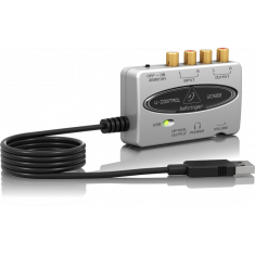 Placa de Audio USB Portátil - Behringer