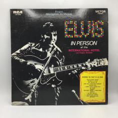 Vinil Elvis - Back In person - In Memphis