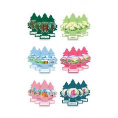 Little Trees - Pack com 6 aromas variados