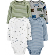 Kit Body Infantil Carter's Tam. 18 meses (Estilo: 0310)