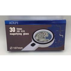 Lupa com 30 luzes de LED - AIXPI