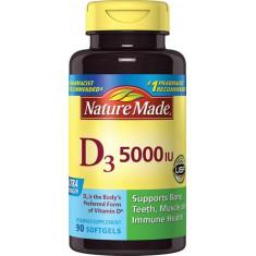 """Vitamina """"D3 (5000 IU)"""" - Nature Made"""