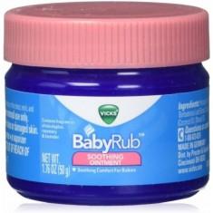 "BabyRub ""Pomada Calmante"" - Vicks 50g"
