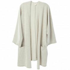 Sweater Casaco Sandwash Cardigan Feminino - Tam. único