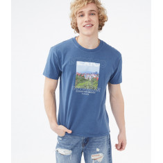Camiseta Masc. Aeropostale - Tam. 3XG (Estilo: 6383)