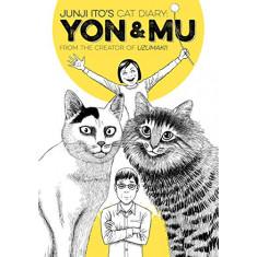"""Livro """"Diário do gato de Junji Ito: Yon & Mu"""""""