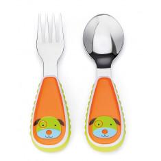 Kit colher + garfo Infantil - SkipHop